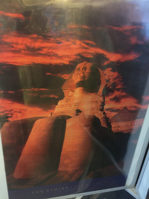 8619 - A - The Sphinx - Giza, Egypt - Litho BV315 - 2004