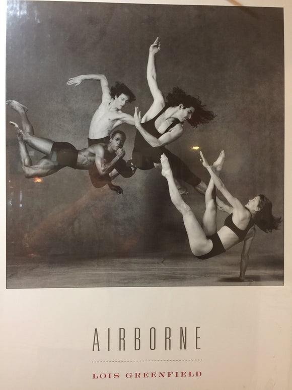 8640 - A - Airbourne - Lois Greenfield - Litho PHL620 - Graceful Disciplined Acrobatic Athletes - 1993 -