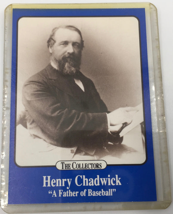 8732 - C - Trading Cards - Henry Chadwick - The Collectors - A Father of Baseball - The Collector's Series - Limited Edition 1/25000 - 1991 -