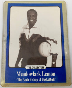 8738 - C - Trading Cards - Meadowlark Lemon - Promotional Card Only - Limited Edition 1/5000 - Very Rare