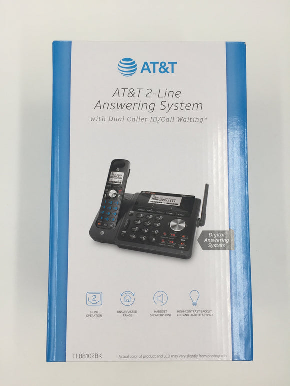 8756 - O - AT&T Set of 4 Wireless 2-line Phones