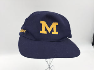 8811 - SP - U of M Go Blue Cap - Excellent Clean Condition Size Adjustable Fits All
