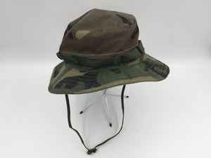 8812 - SP - Camouflage Hunting or Fishing Hat - Excellent Clean Condition Size Adjustable Fits All