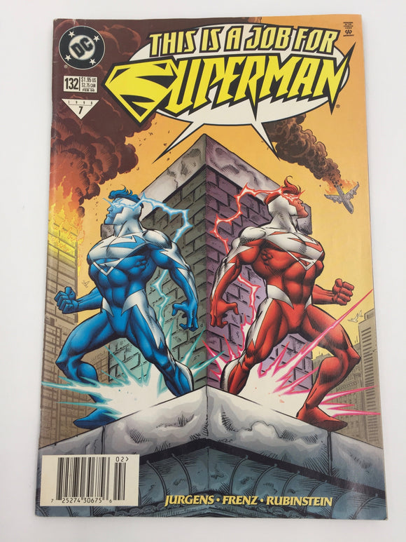 8815 - C - Comic Book - This Is A Job For Superman 132 - #7 DC Comics - 9.6 -