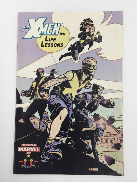 8818 - C - Comic Book - X-Men in Life Lessons 1 - Starbright - Presented By Marvel - 9.6 -