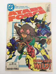8825 - C - Comic Book - Atari Force #3 - Pakrat Goes Wild - 8.5 -