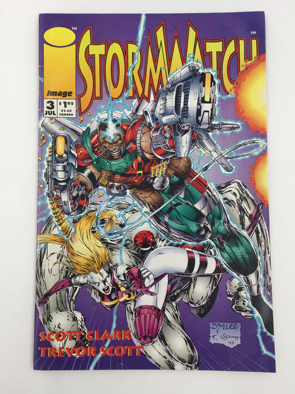 8827 - C - Comic Book - Storm Watch #3 - July 3 - Image Comics - 9.6 -