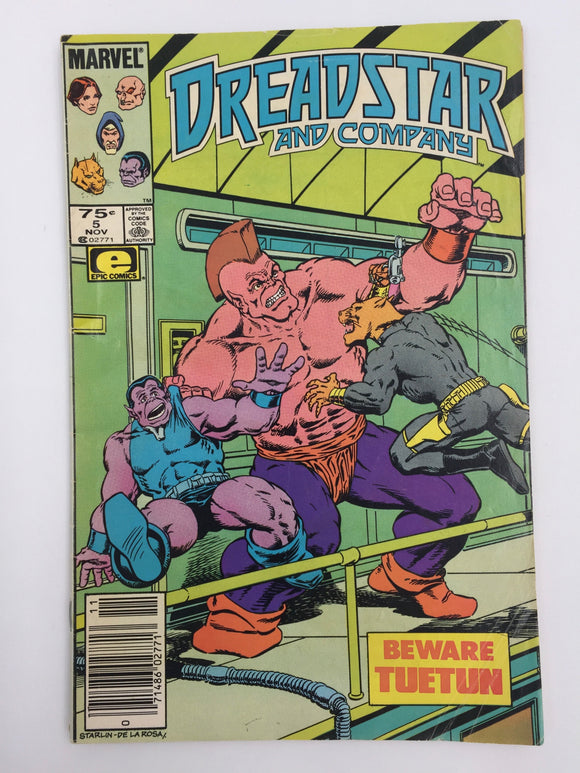 8831 - C - Comic Book - Dreadstar #5 - Beware Tuetun - 9.0
