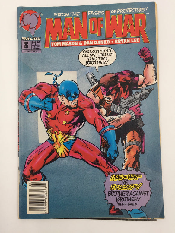 8835 - C - Comic Book - Man of War #3 - From The Pages of Protectors - 9.2 -