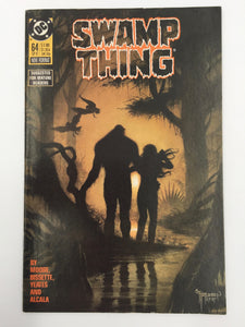 8840 - C - Comic Book - Swamp Thing #64 - Suggested For Mature Readers - 9.6