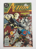 8841 - C - Comic Book - Action Comics Weekly #604 - Showdown For Wild Dog - 7.5