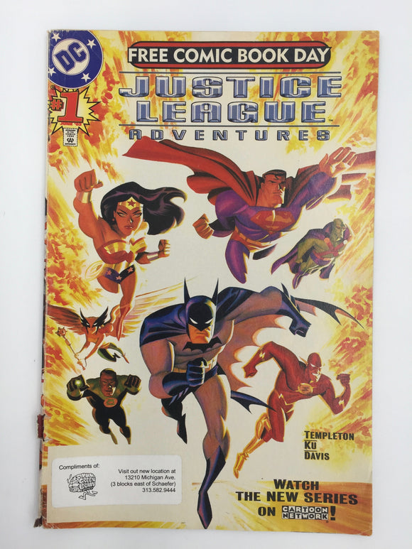 8843 - C - Comic Book - Justice League Adventures
