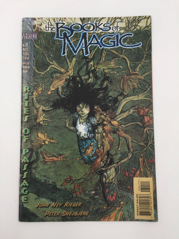 8851 - C - Comic Book - The Book of Magic #34 - 9.2