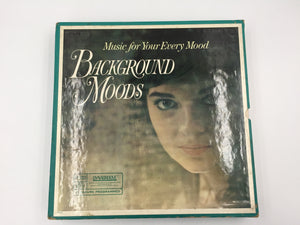"8855 - C - Record Album - ""Background Moods"" - 11 Album Set - Readers Digest"