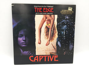 "8868 - C - Record Album - Music from the Film ""Captive"" - The Edge - 1987 with Michael Brook - Virgin Records"