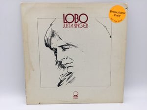 "8872 - C - Record Album - ""Just A Singer"" - Lobo - Promotional Copy - Not for Sale - Rare - 1974"