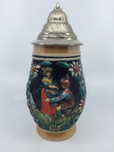 8883 - C - West Germany Stein - - Hand Painted - Corzelius