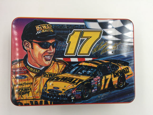 8897 - C - Sam Bass Velvetta Dewalt Race Car 17 - Collector Series Tin - 6