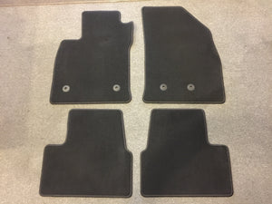 8908 - AU - 2017 Chevrolet Volt Dark Grey Floor Mats - Set of 4 - New - Never Used - 2017 Volt - $40. -