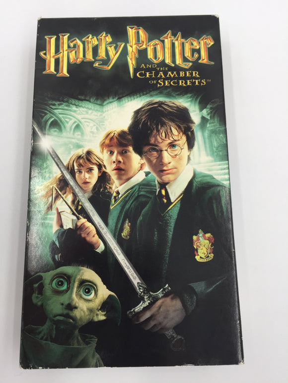 8915- C - Harry Potter and the Chamber of Secrets - Out Matches Even its Own Predecessor -  VHS Tape - 2002 - $12 - VGC