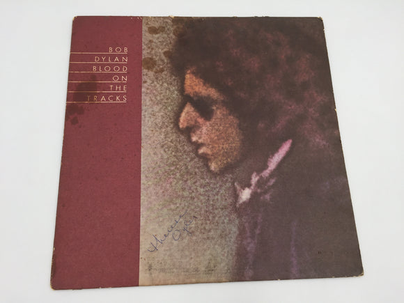 8923 - C - Album - Bob Dylan - Blood on the Tracks - 1974 Production - Excellent Composition of Songs - Great biography - VGC - $12.50 -