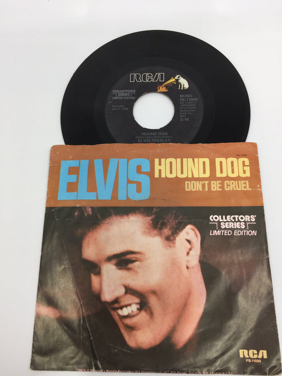 8931 - C - 45 RPM - Elvis Presley - Hound Dog/Don't Be Cruel - RCA Records