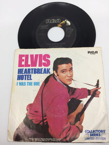 8932 - C - 45 RPM - Elvis Presley - Heartbreak Hotel/I Was the One - Collector's Series Limited Edition - RCA Records