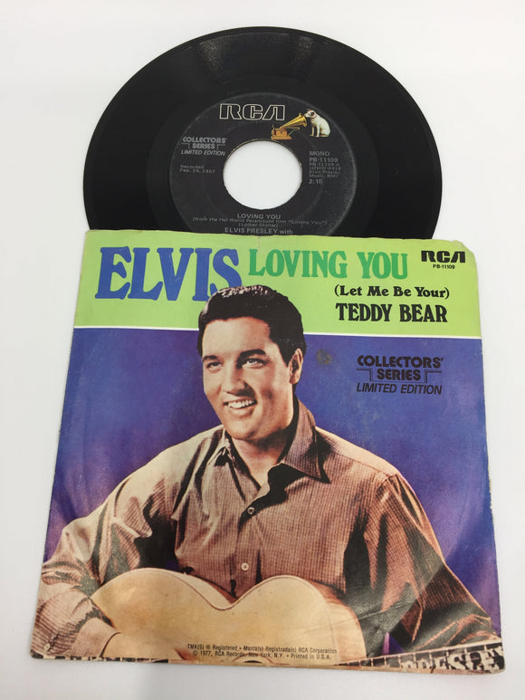 8935 - C - 45 RPM - Elvis Presley - Loving You/Teddy Bear - Collector's Series Limited Edition - RCA Records