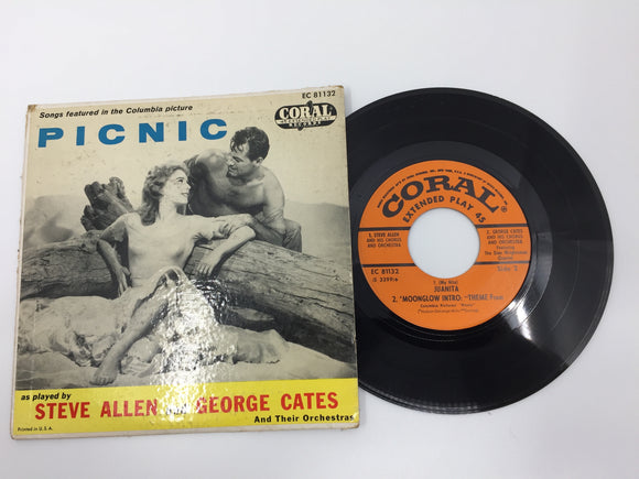 8938 - C - 45 RPM - Picnic - Steve Allen/George Cates - Columbia Pictures EC81132 - Coral Records