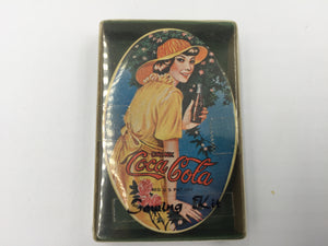 8944 - C - Coca Cola - Drink Coca Cola - Vintage Sewing Kit - In Original Packing - Tin is in New Condition - VCG -