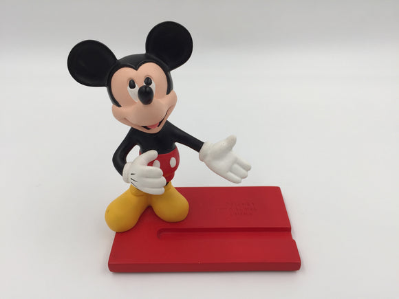 8946 - C - Walt Disney - Mickey Mouse Card Holder - Bright Colorful - Great for the Office or Home -