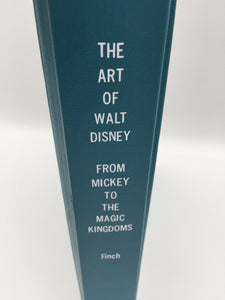 8947 - C - Book - The Art of Walt Disney - Hard Cover - Rare - From Mickey to the Magic Kingdoms - 1983