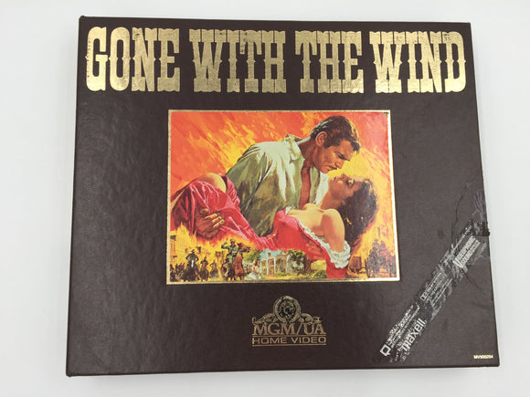 8914 - C - Gone With The Wind VHS 2-Tape Set -  MGM/UA Home Video - 1967 - VHS Hi-Fi Digitally Enhance for Stereo - EC -