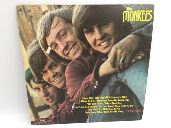 8962 - C - Record Album - The Monkees - Meet the Monkees - 1966