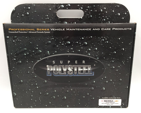 8989 - AU - Super Polysteel Vehicle Care and Maintenance Kit - Professional Product Series