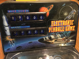 9049 - T - Electronic Space Shuttle Pinball Game - 16 1/2 x 10 1/2 x 8 1/2 - Lights, Sounds - Score Counters - Dual Flappers