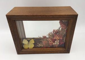 "9054 - M - Music Shadow Box - Vintage - with Hanging Brackets - GG 1979 - Music From; Sound Of Music ""My Favorite Things"" - 5961.02 -"