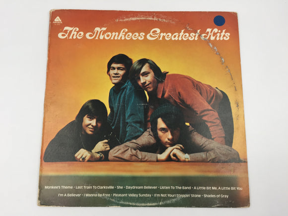 9088 - C - Record Album - The Monkees Greatest Hits - 1972 - AL 4089 - Arista Records