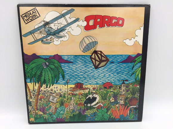 9092 - C - Record Album - Men at Work - Cargo - Dr. Heckyll and Mr. Jive - It's a Mistake - 1982-1983