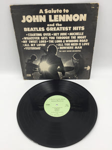 9094 - C - Record Album - A Salute to John Lennon and the Beatles Greatest Hits - 1980