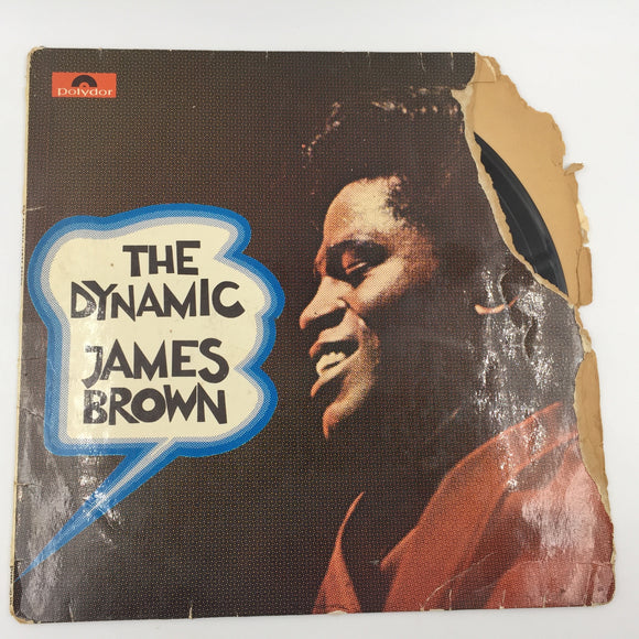 9095 - C - Record Album - James Brown - The Dynamic James Brown - 1966 - Made in Germany - Polydor Records -