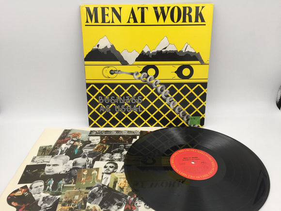 9098 - C - Record Album - Men at Work - Business As Usual - 1982 - Columbia Records