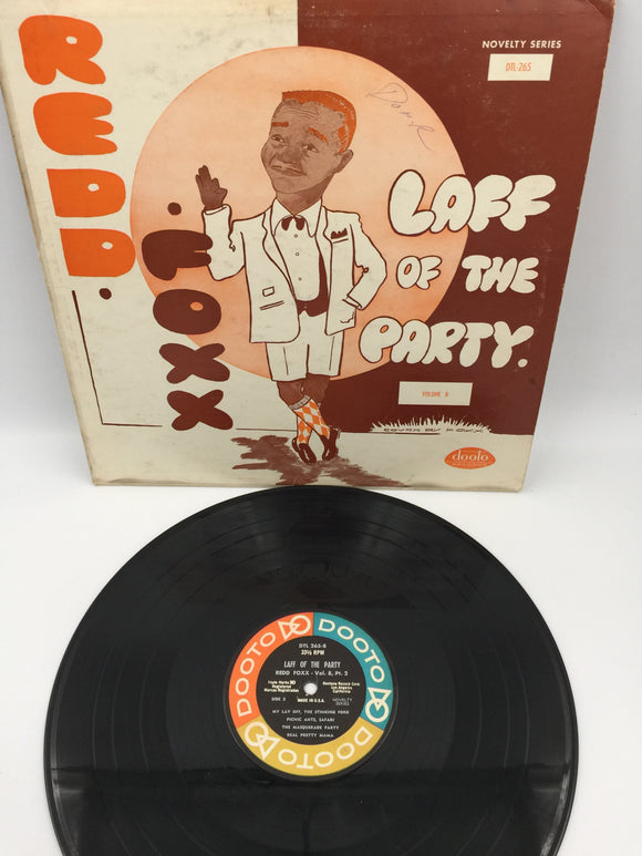 9101 - C - Record Album - Redd Foxx - Laff of the Party Volume 8 - DTL 265 - Rare