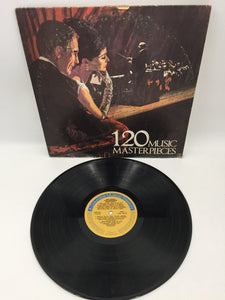9102 - C - Album - 120 Music Master Pieces - Columbia House