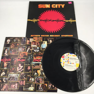 9104 - C - Record Album - Artists United Against Apartheid - Sun City - 1985