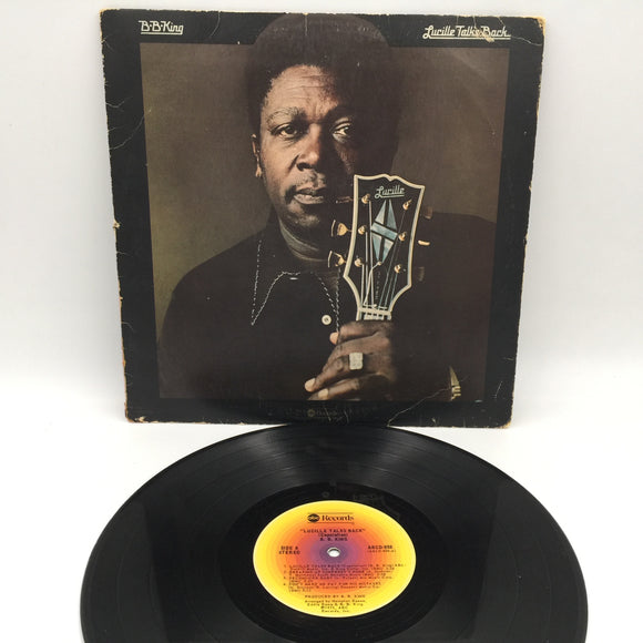 9113 - C - Record Album - B.B. King - Lucille Talks Back - 1975 - ABC Records