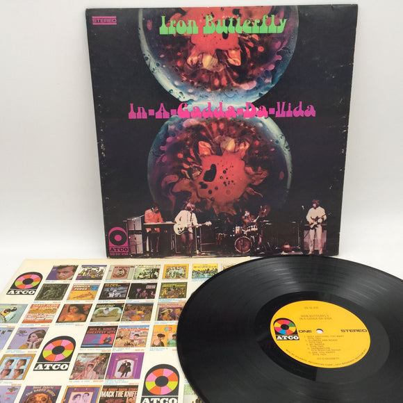 9115 - C - Album - Iron Butterfly - In A Gadda Da Vida - 1968 - ATCO Records