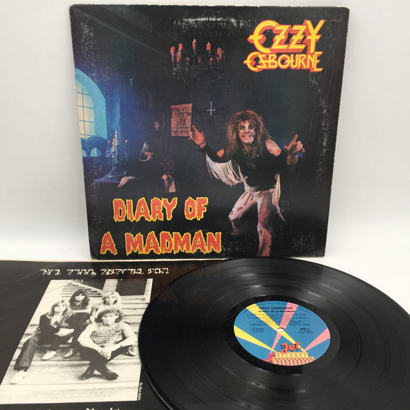 9119 - C - Album - Ozzy Ozbourne - Diary of a Madman - 1981 - Jet Records