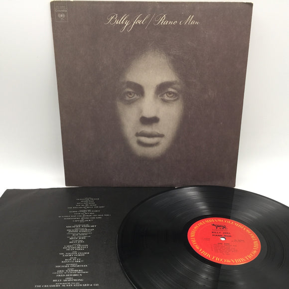 9125 - C - Record Album - Billy Joel - Piano Man - 1973 - Columbia Records