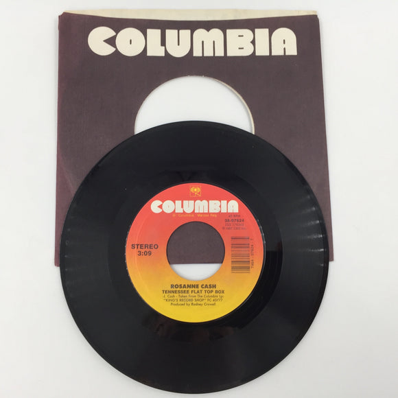 9138 - C - 45 RPM - Rosanne Cash - Why Don't You Quit Leaving Me Alone - 1987 - Columbia Records